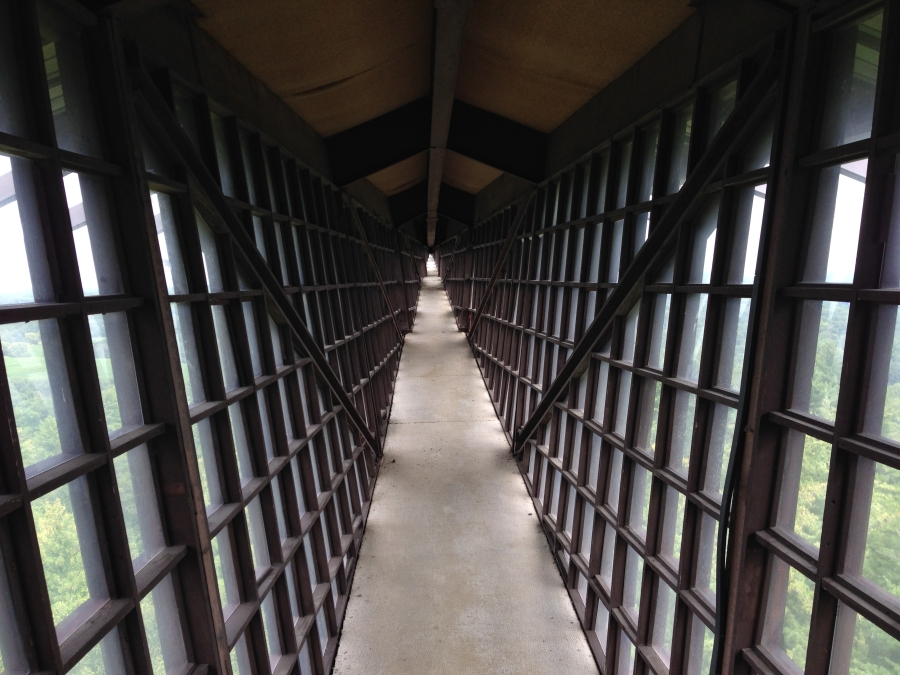 The infinity room at HOTR